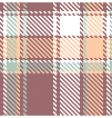 seamless textured tartan plaid pattern vector image vector image