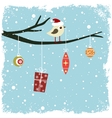 winter card vector image vector image