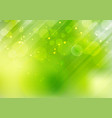 abstract green nature bokeh blurred background vector image