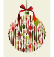 Christmas Bauble Cutlery vector image vector image