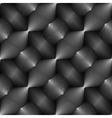 Design seamless monochrome convex pattern vector image vector image