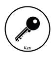 Icon of Key vector image vector image
