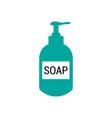 liquid soap icon design template isolated vector image vector image