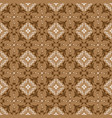 modern flower pattern in indonesian batik style vector image vector image