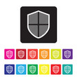 online protection icon vector image vector image