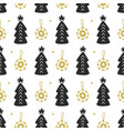 scandinavian christmas nordic seamless pattern vector image vector image