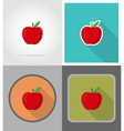 school education flat icons 15 vector image vector image