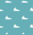 sneakers pattern seamless vector image