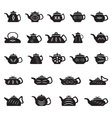 Teapot Chinese Japanese Asian Oriental vector image