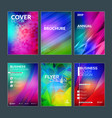 business brochure cover design templates modern vector image vector image
