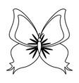 butterfly insect icon image vector image vector image