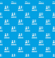chemistry pattern seamless blue vector image vector image