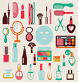 cosmetic-elements-set vector image vector image
