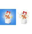 discount sale loyalty program concept vector image