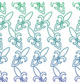 fleur de lis mardi gras carnival symbol vector image vector image