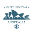 Greeting Card Australia vector image vector image