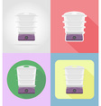 household appliances for kitchen 14 vector image