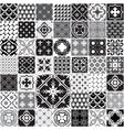 huge seamless patchwork patterns tiles vector image