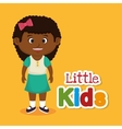 little kids design vector image