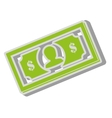 money dollar cash design vector image
