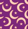 Sketch Ramadan symbol in vintage style vector image vector image