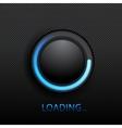 black button vector image