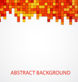 Abstract modern poligonal background for brochure vector image vector image