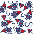 abstract paisley seamless style pattern it is vector image