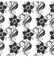 flower design decorative floral seamless pattern vector image vector image