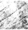 halftone grunge texture vector image vector image