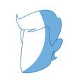 Man cartoon face adult caricature character