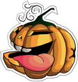 pumpkin Halloween 2 vector image