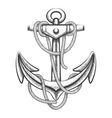 The Anchor vector image vector image
