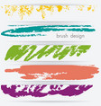 banner set witn abstract sketch background vector image vector image