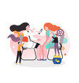 dermatologist concept for web banner vector image