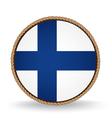 Finland Seal vector image vector image