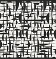 grunge grid seamless pattern vector image vector image