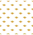 Happy Thanksgiving Day ribbon pattern vector image