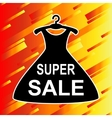 Super Sale advertisement vector image