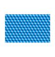 3d cubes seamless pattern ornament wallpaper vector image
