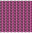 Pink and black waves seamless pattern vector image
