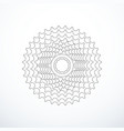 bike cassette isolated vector image