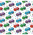 children s toy car seamless texture car vector image