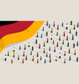 germany independence anniversary celebration and vector image vector image