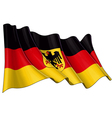 Germany State Flag vector image vector image