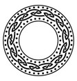 in celtic scandinavian style celtic vector image
