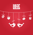 love valentines day love valentines day vector image
