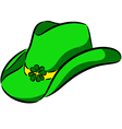 Patricks hat vector image