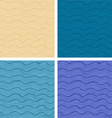 Patterns set vector image vector image