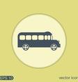 School bus Symbol study Icon transport vector image